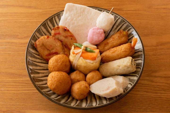 東京都西東京市ひばりが丘 一番通り商店街:大清かまぼこ店のおでん種