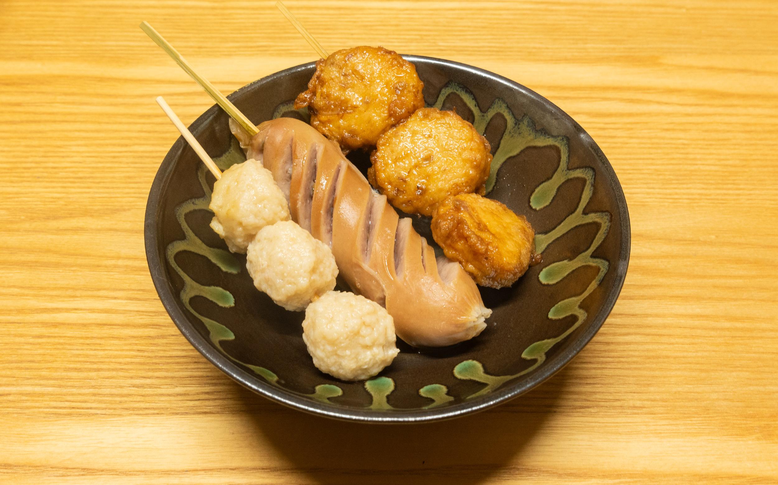 東京都板橋区蓮根 蓮根中央商店会:えびすや蒲鉾店のおでん種