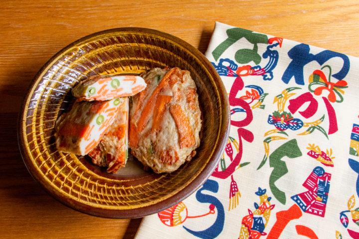 板橋区大谷口北町:蒲吉商店のおでん種 野菜天