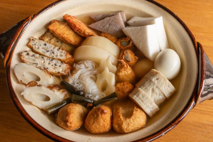 東京おでんの調理方法