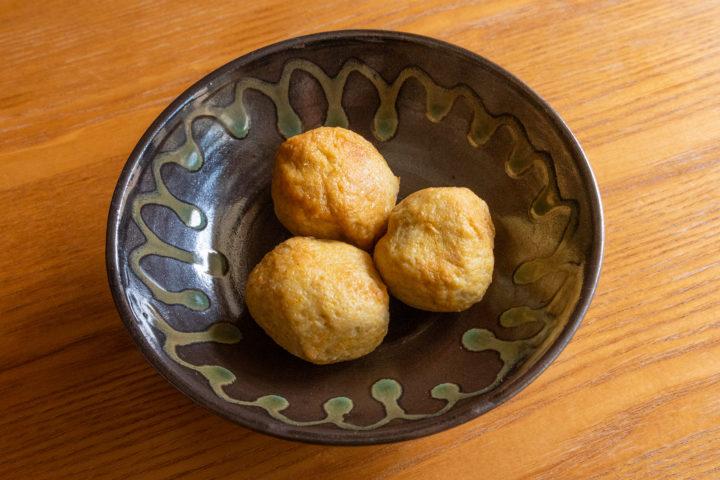 千葉県銚子市川口町:嘉平屋のおでん種 カレーボール