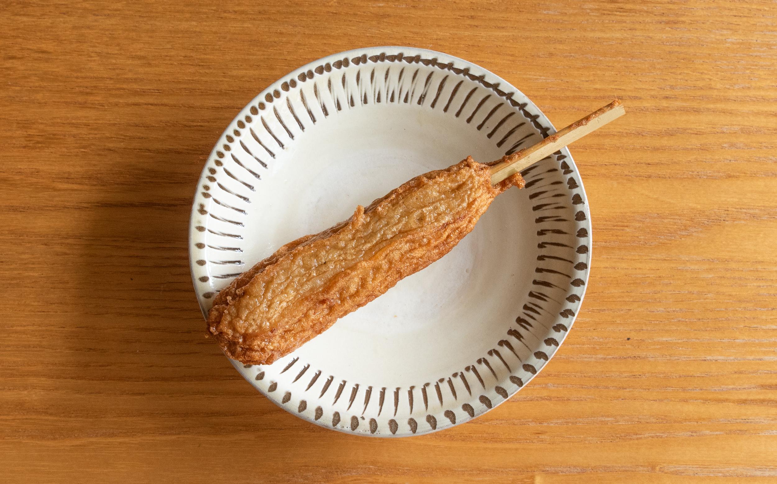 蒲清(江戸川区 南小岩)おでん種:つくね巻