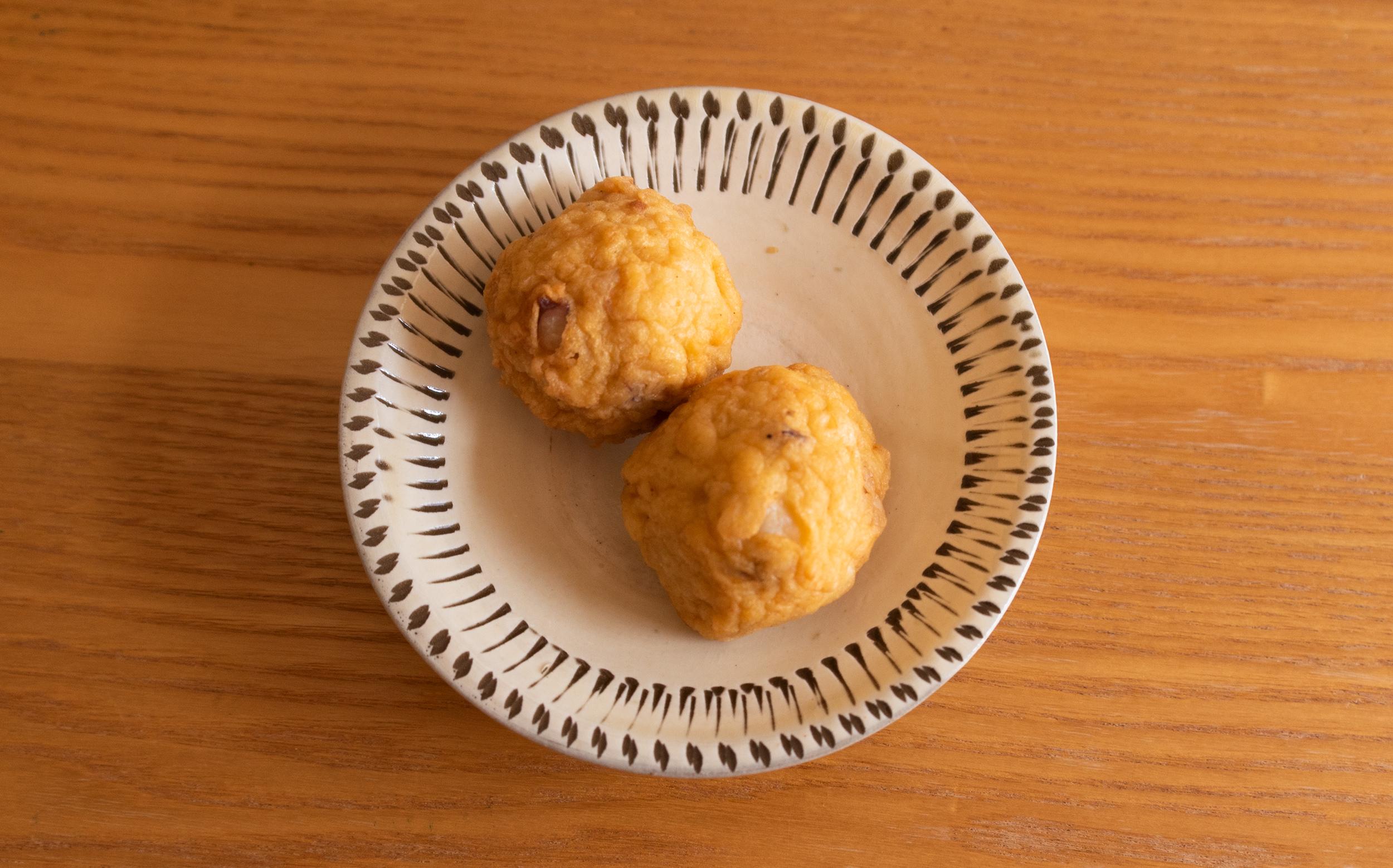 丸健水産(北区) おでん種:錦揚げ(イカ)