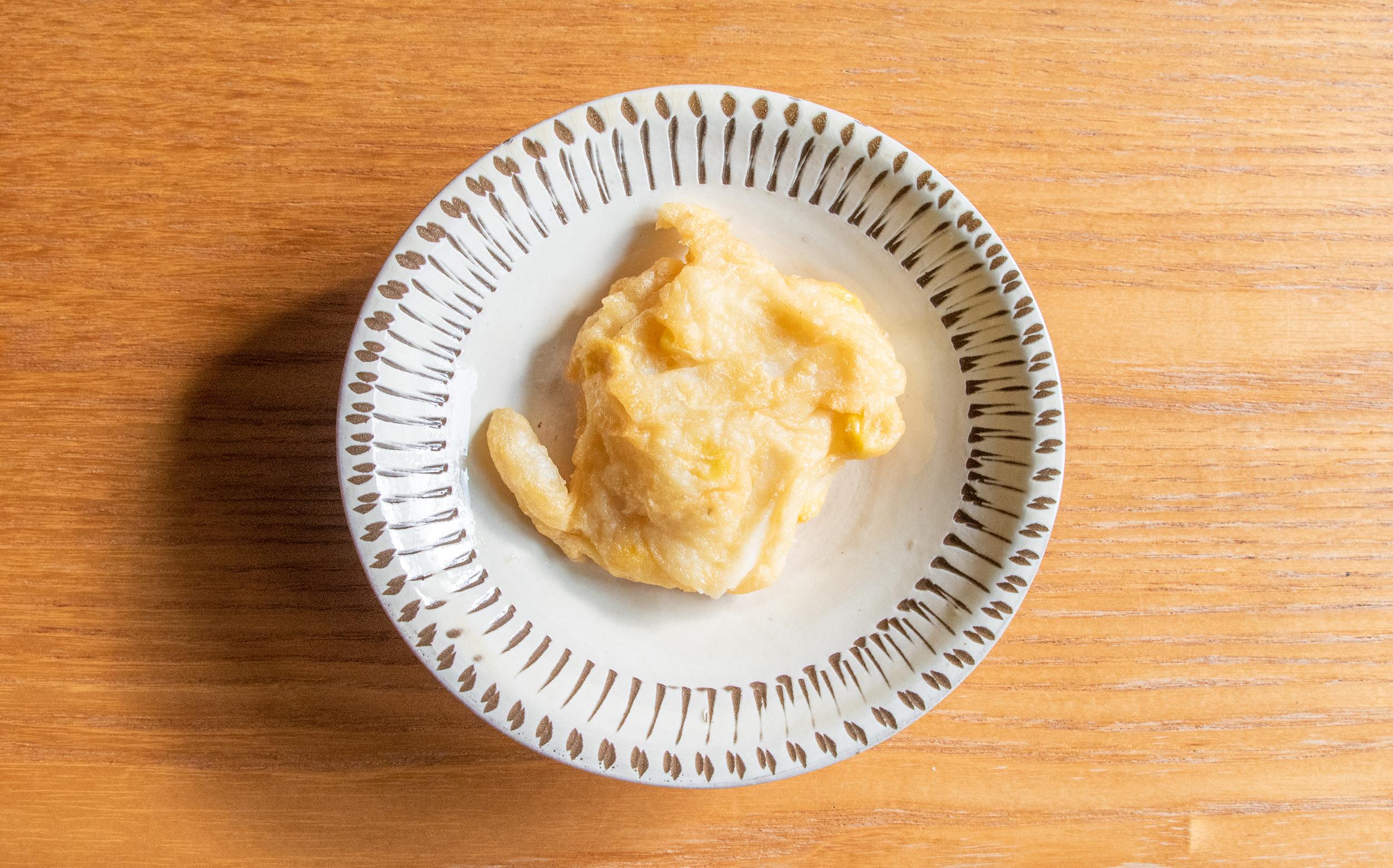 増田屋(葛飾区立石)のおでん種:ベーコンポテト