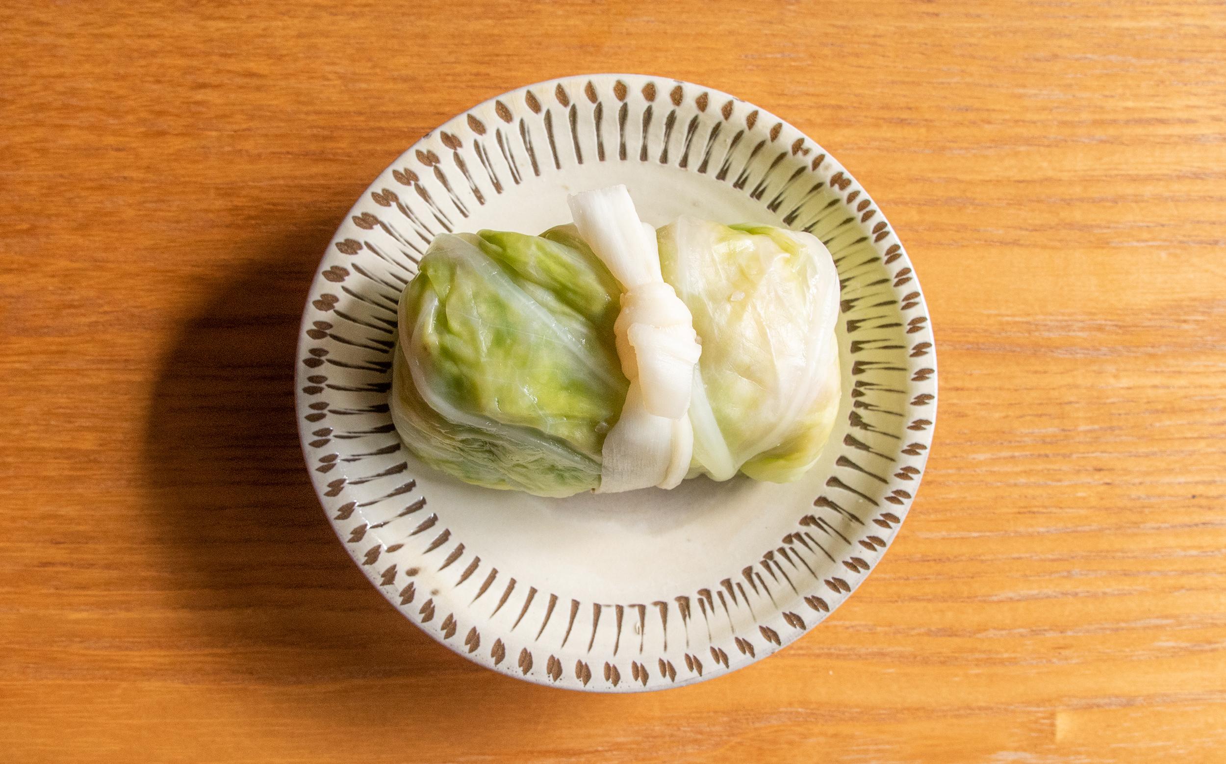 増田屋(葛飾区立石)のおでん種:ロールキャベツ