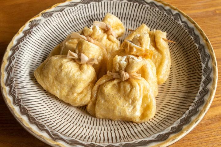 おでんの餅巾着の調理方法