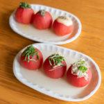 おでんのトマトの調理方法:おでんトマトのトッピング