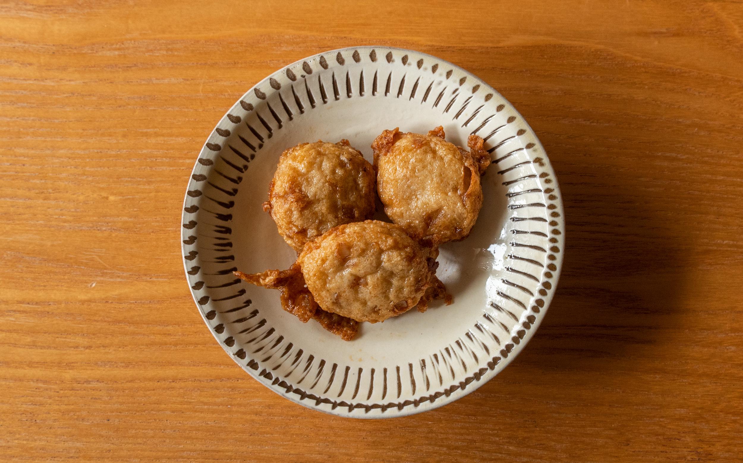 柳屋蒲鉾店(目黒区目黒本町)のおでん種:肉ボール