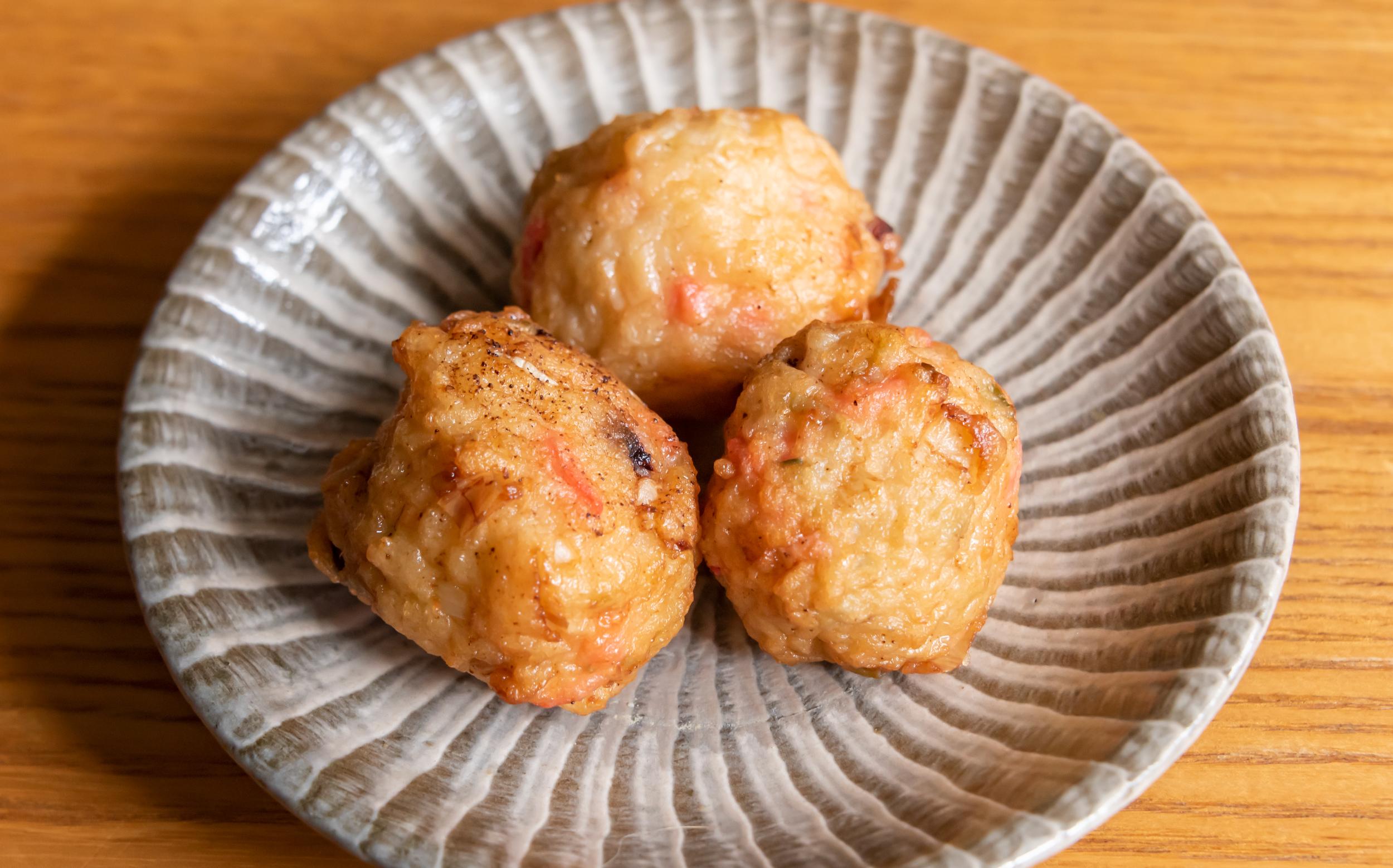 武田総菜店(東京都世田谷区等々力)のお惣菜:タコボール