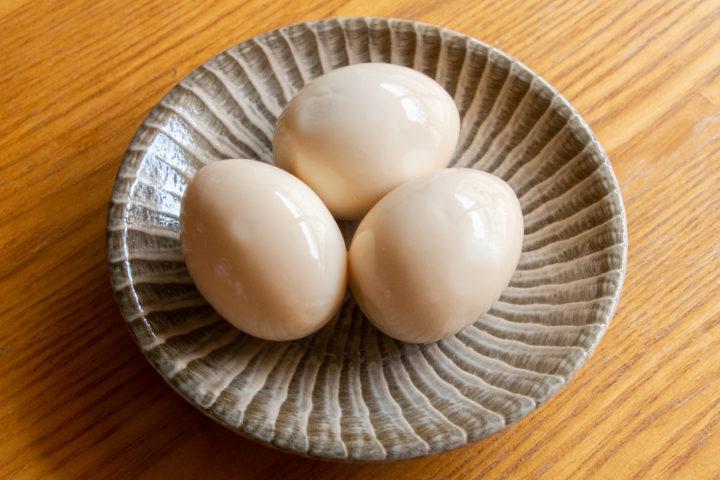 茹で玉子(煮卵)