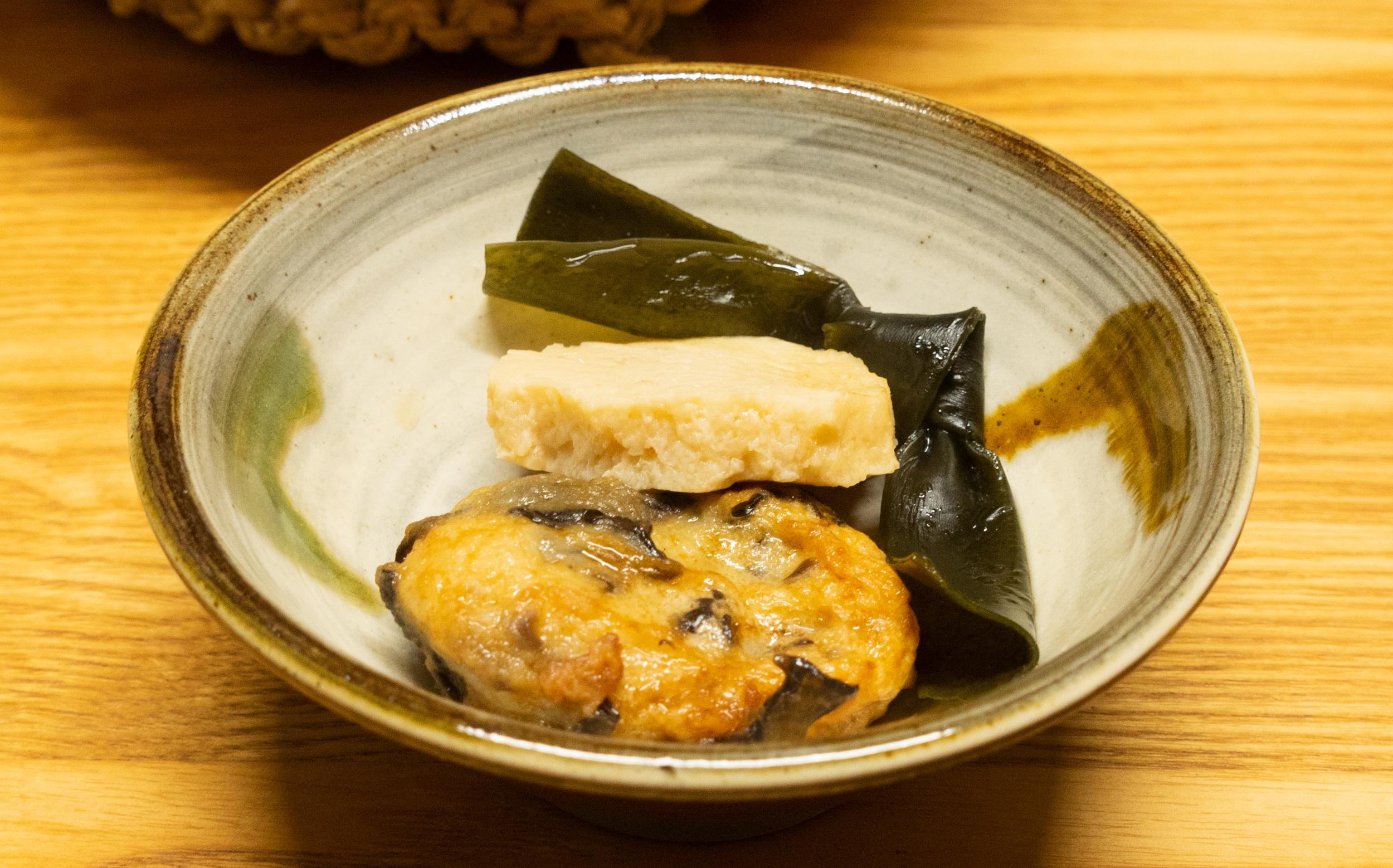 東京都目黒区目黒本町:柳屋蒲鉾店のおでん種